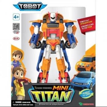Korean Animation Robot Transformer 2in1 Mini Tobot TITAN