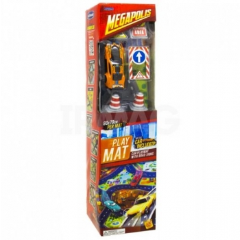 Playmat Megapolis with car