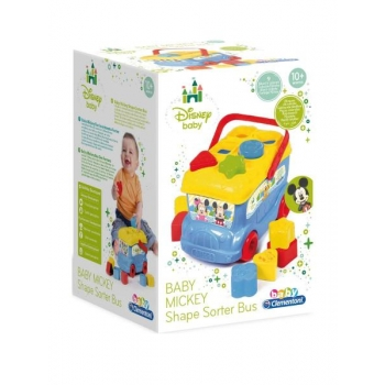 Clemmy мягкий конструктор-Baby Mickey Shape Sorter Bus