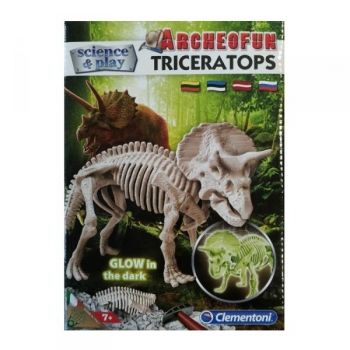 Kaeva välja skelett Triceratops Clementoni