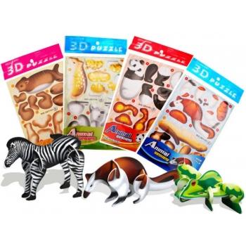 3D Pusle Loomad