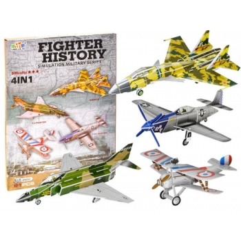 3D Puzzle, 91 pcs,Military Airplanes