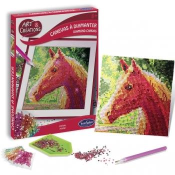 Mosaiik tähtede järgi Hobune (läikivad käsitööliitrid)