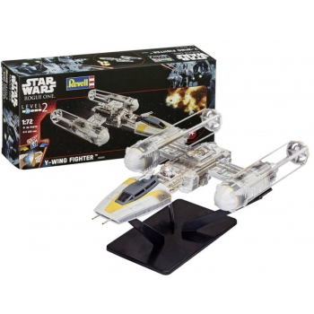 Liimitav plastmassist mudel Revell  Star Wars Y-Wing Fighter 1:72