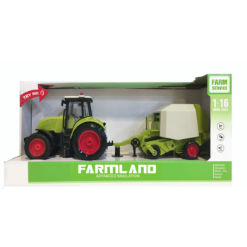 Детский трактор со звуком и светом, 42см