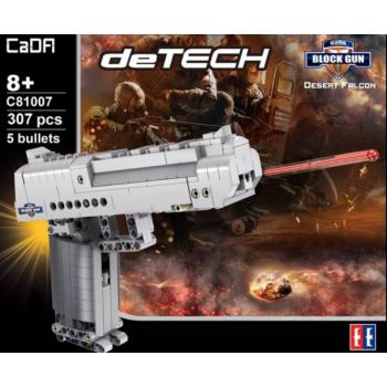 "Ehitusklotside komplekt CADA TECHNIC ""Püstol Desert Falcon"", 307 osa"
