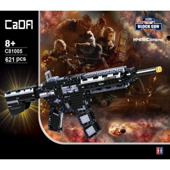"""Ehitusklotside komplekt CADA TECHNIC """"Vintpüss M4A1"""", 621 osa"""