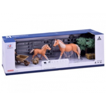 Horse Stable Set