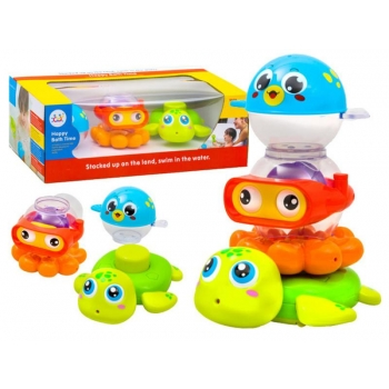 "Bath toy with suction pads ""Animals"""