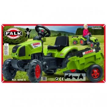 Детский педальный Трактор с прицепом Claas Arion Falk 2040C