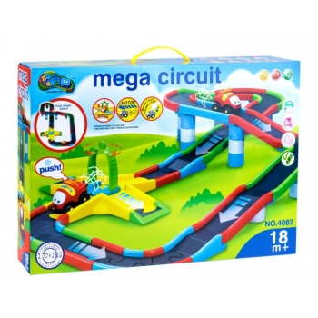 Car Tracks for baby with cars