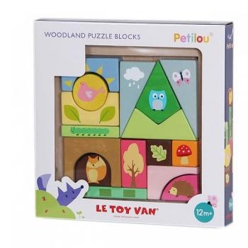 Woodland Puzzle Blocks