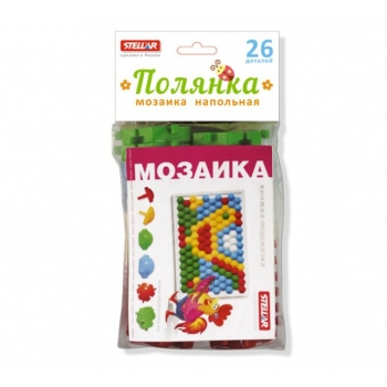 Puzzle blocks, 26pcs.