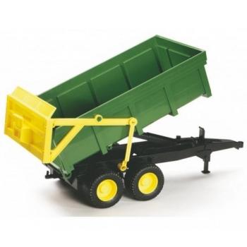 Tipping trailer (green-yellow) Bruder 02210
