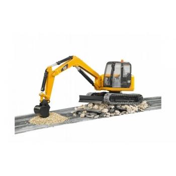 Мини-экскаватор Caterpillar Bruder 02456