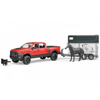 Dodge Ram hobuveotreileriga+hobune