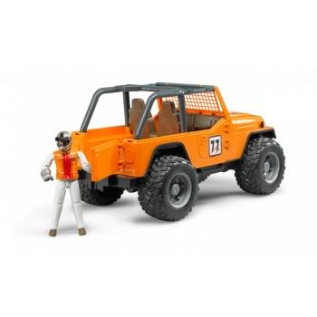 Võidusõidu Jeep figuuriga oranz