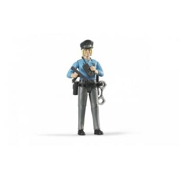 Inimfiguur, naispolitseinik(hele)politsei lisadega