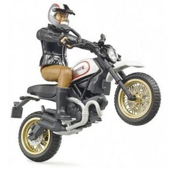 Ducati Scrambler Desert Sled sõitjaga