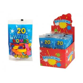 Игровой набор водяные бомбочки 20 штук в пакете