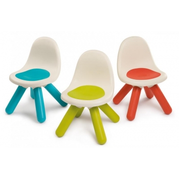 Smoby Chair with backrest, green
