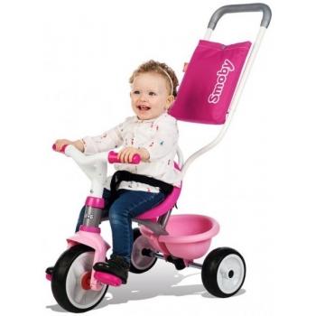 SMOBY трехколесный велосипед Be Move Comfort, розовый