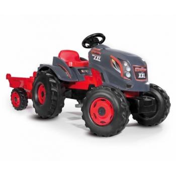 SMOBY трактор XLL красный, серый