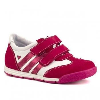 Tüdrukute kingad naturaalsest nahast Lilla