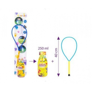 Soap bubble ring + 0,25 L - SET