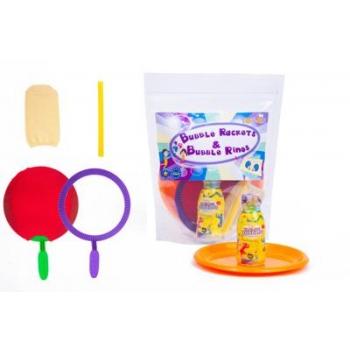 Tuban - Кольца-ракетки для мыльных пузырей + 250 мл жидкости