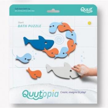 Quutopia - Bath puzzle - Shark