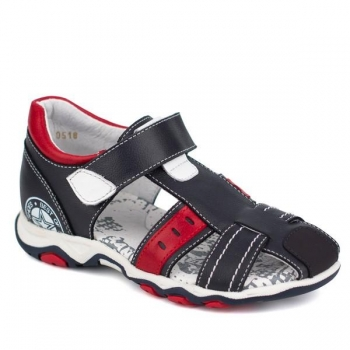 Leather Shoes for Boys Black