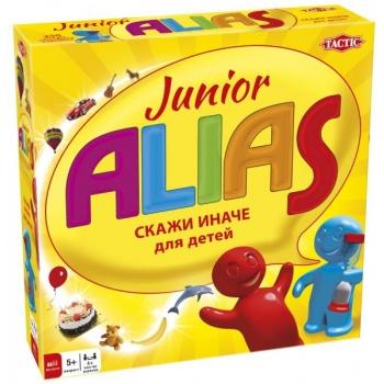 Tactic lauamäng Junior Alias vene keeles