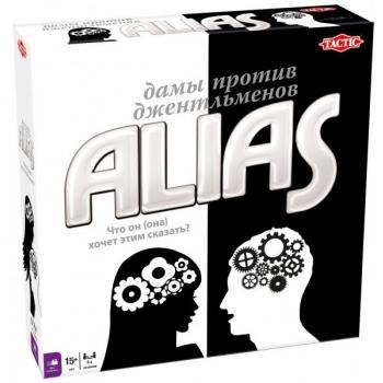 Tactic lauamäng Alias Naine vs. Mees
