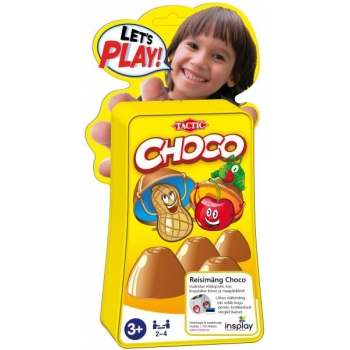 Travel Game Let`s Play Choco