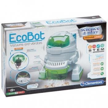 Robot EcoBot Vacuums and vibrates CLEMENTONI