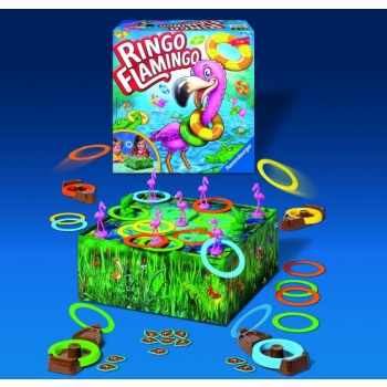 Ravensburger Board Game Ringo Flamingo