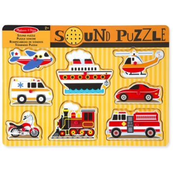 """Häälega puzzle """"Transport"""" Melissa&Doug"""