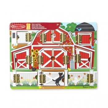 Melissa&Doug Farm Hide & Seek Board