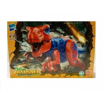 Mängukonstruktor Dinosaurus Häälega