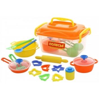 Детский набор для кухни 20 элементов.Polesie.