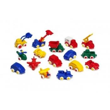 Пластмассовая машинка 7см.Viking Toys.