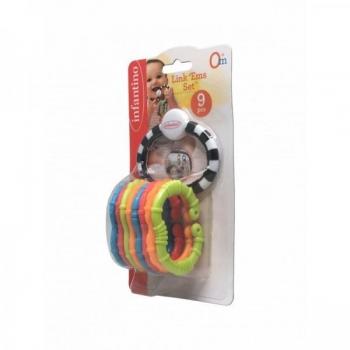Infantino игрушка-цепочка 9 элементов