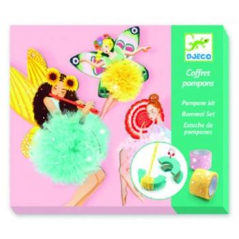 Creative kit - Fairy pompoms