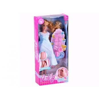 Anlily Doll pregnant mom Newborn baby accessory