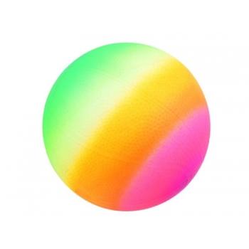 Kummist Põrkepall vikerkaare värvusega pall lastele mängimiseks