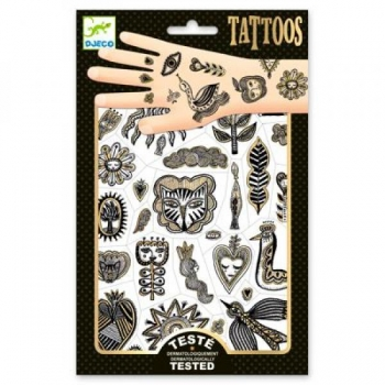 Tattoos - Golden chic