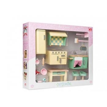 Dollhouse Furniture/Daisylane Kitchen 19 pcs.