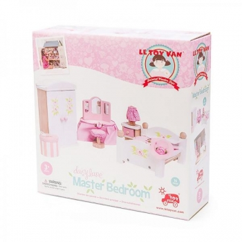 Dollhouse Furniture/Daisylane Master Bedroom 13 pcs.