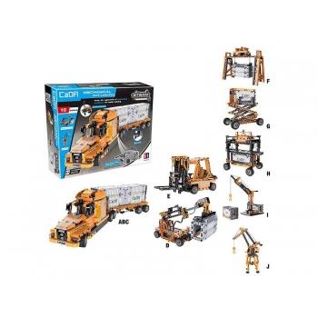 Ehitusklotside komplekt CADA Mechanical Work Laboratory,634 osa
